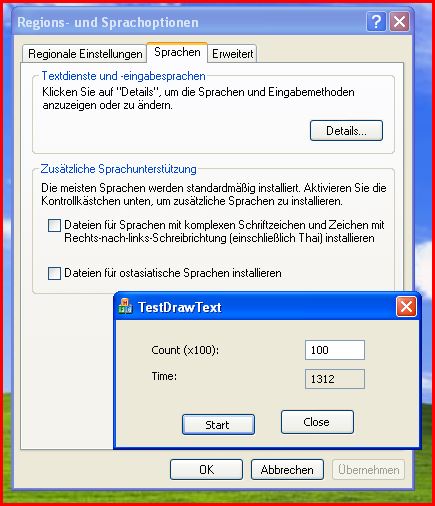 XP-DrawText-Fast