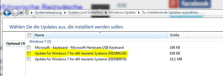 kb2999226 for windows 7